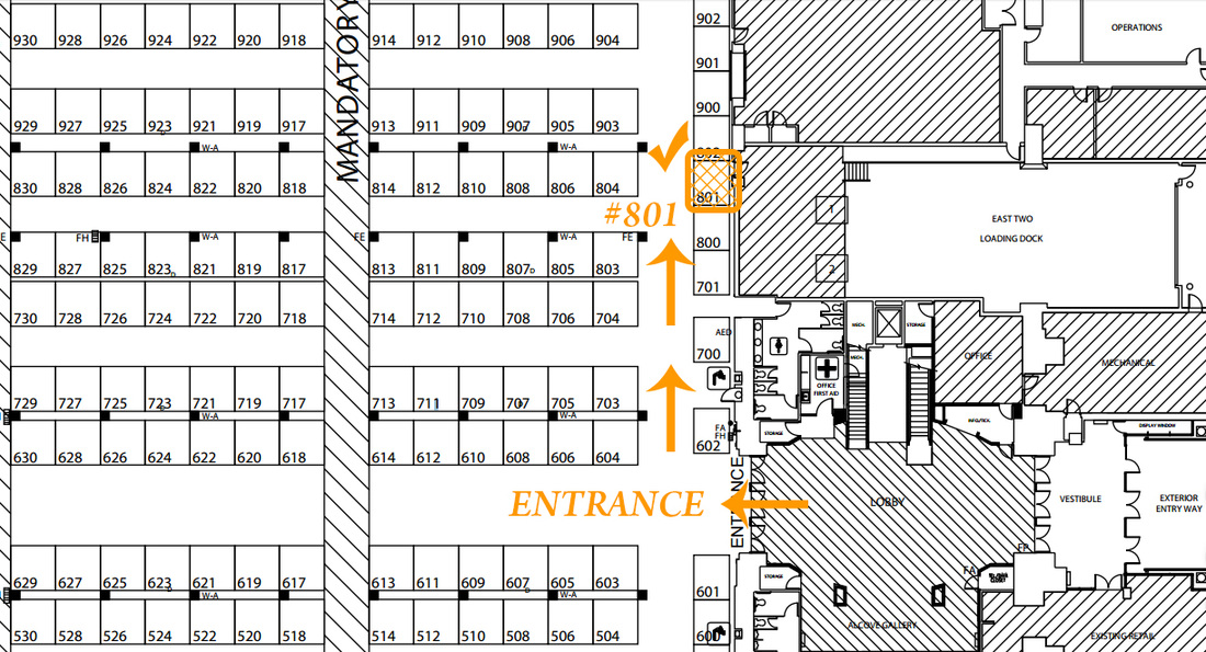 2016 New England Home Show Layout
